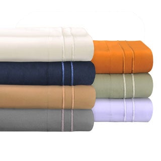 Luxor Treasures Egyptian Cotton 800 Thread Count Embroidered Sheet Set