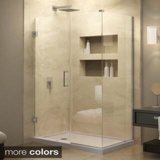 DreamLine Unidoor Plus 58 in. W x 30.375 in. D x 72 in. H Hinged Shower Enclosure