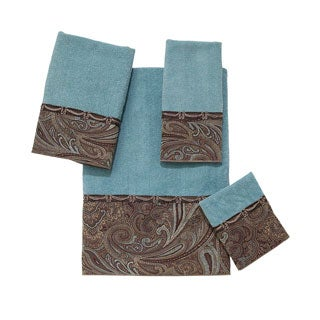 Avanti Bradford Embellished 4-piece Towel Set