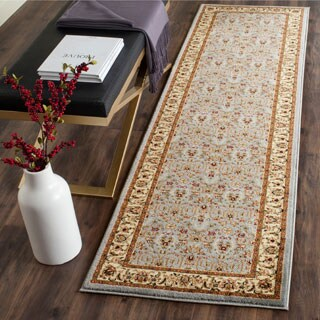 Safavieh Lyndhurst Traditional Oriental Light Blue/ Ivory Rug - 2'3 x 21'