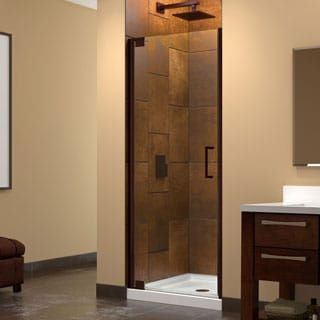 DreamLine Elegance 34 to 36 in. W x 72 in. H Pivot Shower Door