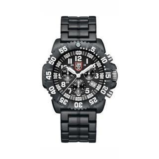 Luminox Men's A.3082 'Colormark' Black/White Dial Black Polycarbonate Bracelet Chronograph Watch|https://ak1.ostkcdn.com/images/products/P16344468p.jpg?impolicy=medium