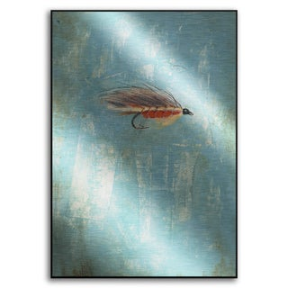 Gallery Direct Benjamin Deal's 'Fly Fishing III' Metal Art
