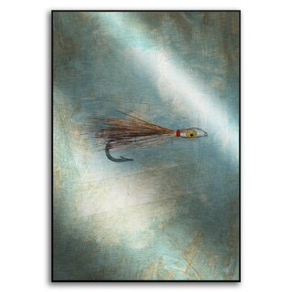 Gallery Direct Benjamin Deal's 'Fly Fishing II' Metal Art