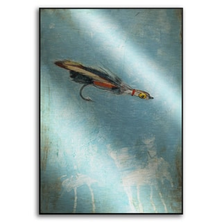 Gallery Direct Benjamin Deal's 'Fly Fishing I' Metal Art