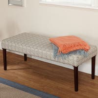 Simple Living Natalie Contemporary Upholstered Bench
