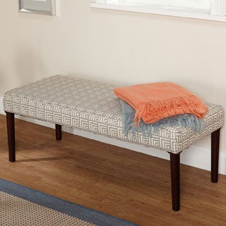 Simple Living Natalie Contemporary Upholstered Bench - N/A
