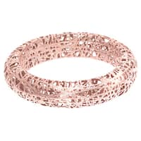 Stilnovo 14k Rose Gold Mesh Wire Ring