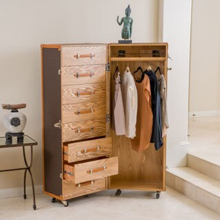 Richfield Rolling Wardrobe by Christopher Knight Home