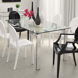 Zuo Roca Stainless Steel Dining Table