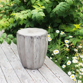 Eco-fiber Cement Jagged Side Table (Vietnam)
