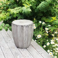 Handmade Eco-fiber Cement Jagged End Table (Vietnam)