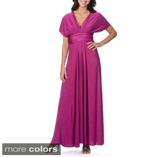 Women's Long Maxi Dress Convertible Wrap Cocktail Gown Bridesmaid Multi Way Dresses One Size Fits 0-12|https://ak1.ostkcdn.com/images/products/P16385393m.jpg?impolicy=medium