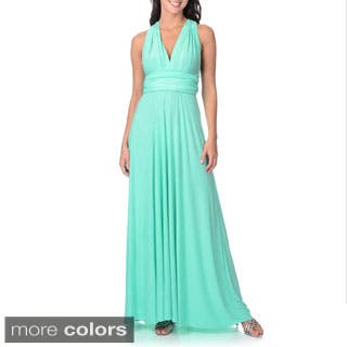 Women's Long Maxi Dress Convertible Wrap Cocktail Gown Bridesmaid Multi Way Dresses One Size Fits 0-12|https://ak1.ostkcdn.com/images/products/P16385396v.jpg?impolicy=medium