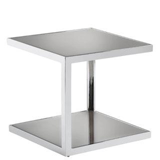 Sunpan 'Ikon' Nolan Mirrored Side Table