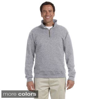 Men's 50/50 Super Sweats NuBlend Fleece Quarter-zip Pullover|https://ak1.ostkcdn.com/images/products/P16385639h.jpg?impolicy=medium