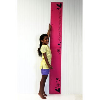Sassy Shaylee Growth Chart Wall Decal