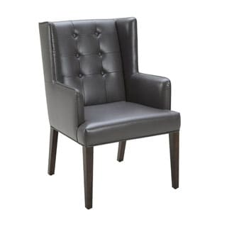Sunpan '5West' Clarkson Bonded Leather Armchair
