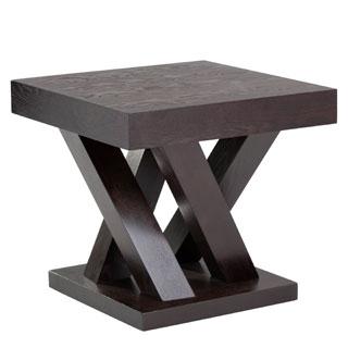 Sunpan Madero Driftwood End Table