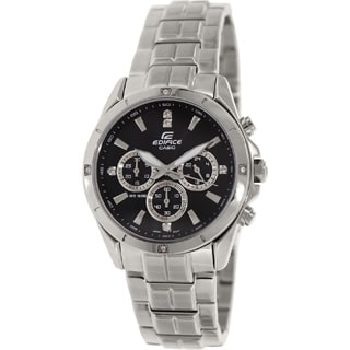 Casio Men's Edifice EF544D-1AV Stainless Steel Watch