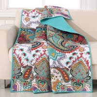 The Curated Nomad Horsdal Quilted Cotton Throw