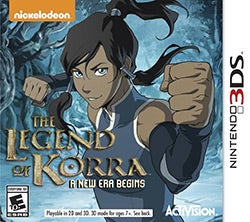 Nintendo 3DS - Legend of Korra