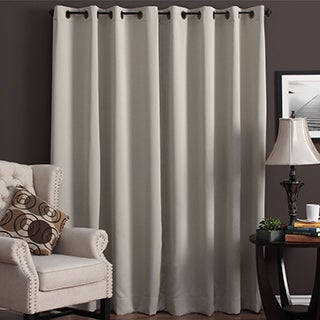 Ultimate Blackout Grommet Top Patio Curtain Panel - 112 x 84