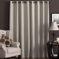 Ultimate Blackout Grommet Top Patio Curtain Panel (112 x 84 Inches)