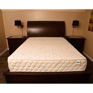 Bio Sleep Concept Amboise White Latex and Cotton 12-inch King-size Adjustable Comfort Memory Foam Mattress