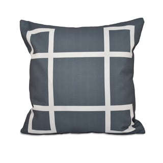 20 x 20-inch Geometric-print Decorative Throw Pillow