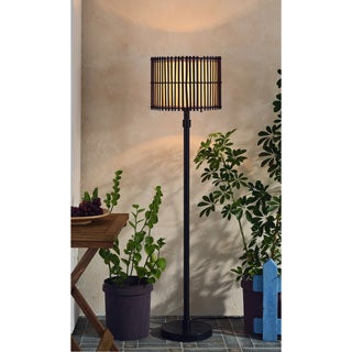 Dakota 1-light Bronze Slat Floor Lamp