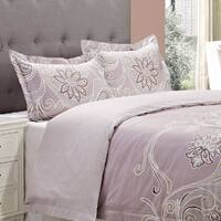 Superior Vineyard 3-piece Cotton Duvet Cover Set
