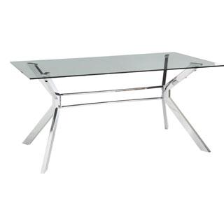 Sunpan 'Ikon' Tista Glass Dining Table
