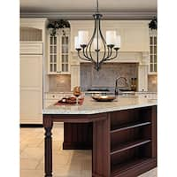 Avery Home Lighting Cardinal 5-light Olde Bronze Chandelier