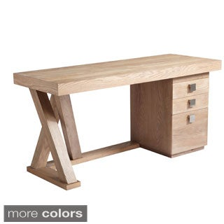 Sunpan 'Ikon' Madero Contemporary Wood Desk with Drawers