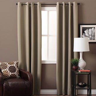 Ultimate Blackout Grommet Top Curtain Panel Pair