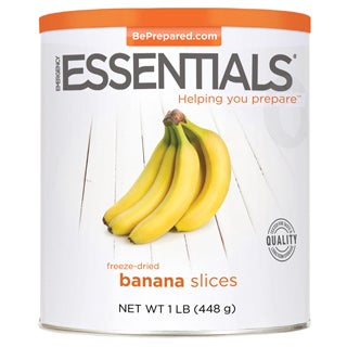 Emergency Essentials Freeze-dried Banana Slices