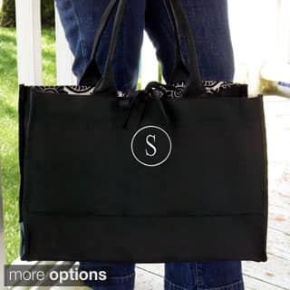 Personalized Damask Fabric Tote Bag|https://ak1.ostkcdn.com/images/products/P16418496a.jpg?impolicy=medium