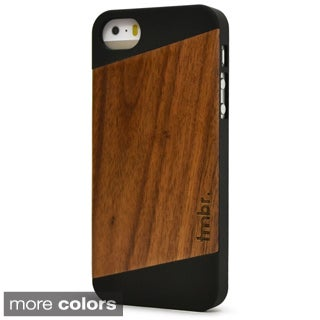 Fifty-Fifty Angled Wood iPhone 5/5S Case