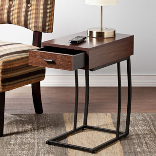 Clay Alder Home Hi-Line Side Table w/ Power and USB
