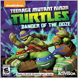 Nintendo 3DS - Teenage Mutant Ninja Turtles: Danger of the Ooze