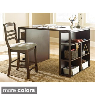 Greyson Living Barclay Black Counter Height Desk