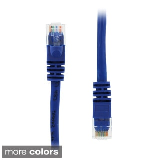 GearIt 1-foot RJ45 CAT5E Molded Ethernet Network Patch Cable (Pack of 10)