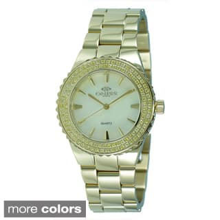 Oniss Women's Magnifico Collection Stainless Steel Watch|https://ak1.ostkcdn.com/images/products/P16439280A.jpg?impolicy=medium