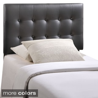 Emily Button-tufted Twin-size Headboard