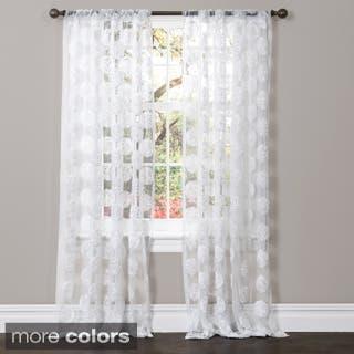 Lush Decor Arlene Sheer Curtain Panel|https://ak1.ostkcdn.com/images/products/P16446511A.jpg?impolicy=medium