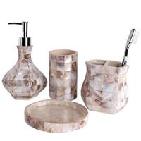 Milano Bath Accessory 4-piece Set