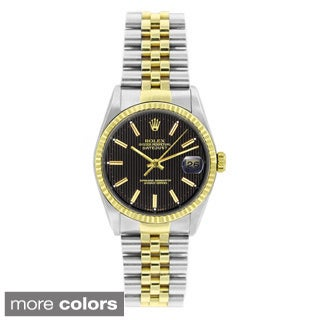 Pre-owned Rolex Men's Datejust Two-tone 18k Gold and Stainless Steel Watch