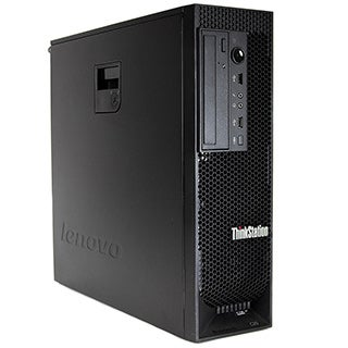 Lenovo ThinkStation C20 Intel Core 2 DVDRW Windows 7 Professional Mid Tower Computer (Refurbished)