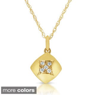 Eloquence 14k Yellow or White Gold Diamond Accent Necklace|https://ak1.ostkcdn.com/images/products/P16474231L.jpg?impolicy=medium